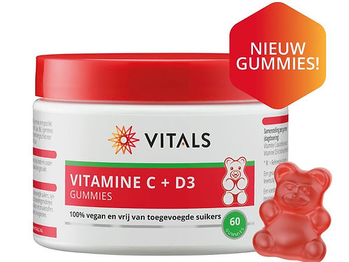 Vitals - Vitamine C + D3 gummies
