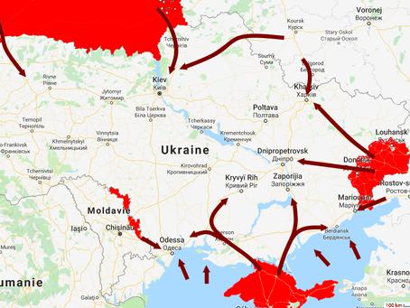 Vers l'invasion russe de l'Ukraine