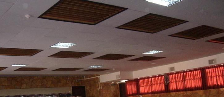 דיפיוזרים בתקרה