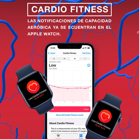 CARDIO FITNESS llega al Apple Watch.