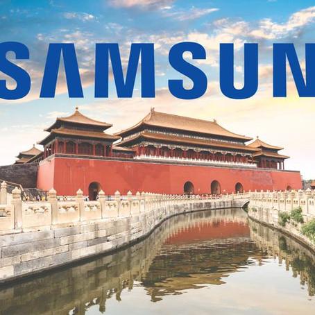 Samsung deja de fabricar celulares en China por el aumento de los costos de producción.