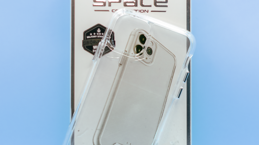 SPACE (Case Transparente y Plata)
