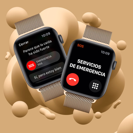 Tu Apple Watch podría salvarte la vida.