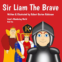 Sir Liam The Brave - kindle cover 350px.
