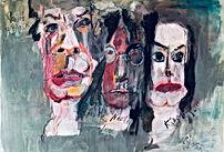 """Preis:1900 € Acryl auf LW 70 x 95 cm """"Paint It Black"""" WVZ.:Nr 2020/4"""