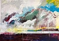 Wasser, Ostsee, Rügen, Kunst, Malerei, Malkurse, moderne Kunst, Conny Gabora,