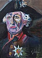 Verkauft,Wilhelm der 2 Acryl auf Linewand 70 x 50