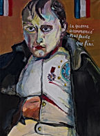 Acryl auf Leinwand Napoleon 70 x 50 cm w
