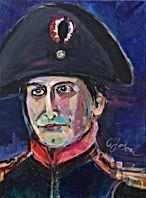 Verkauft,Napoleon Bonaparte Acryl auf Leinwand 70