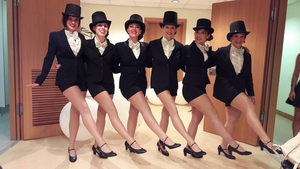 Athens Swing Cats showgirls