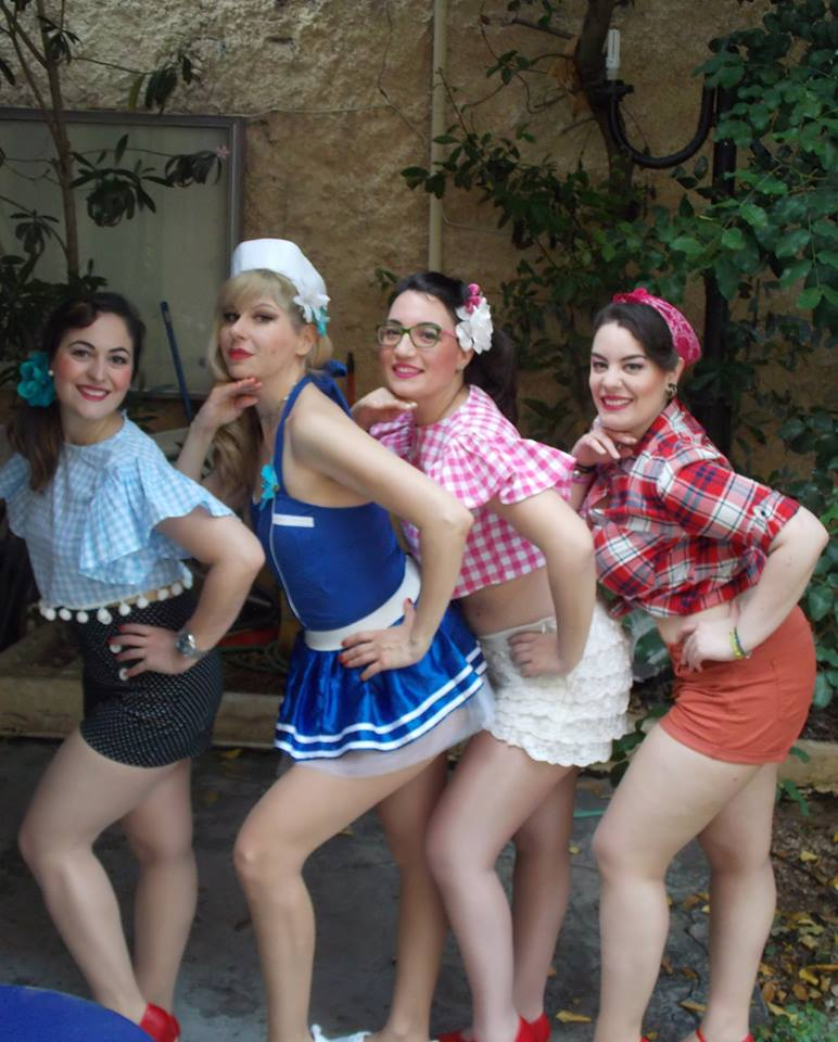 Athens Swing Cats pin ups