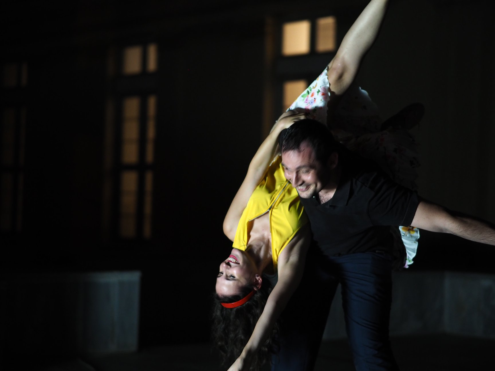 Athens Swing Cats aerials lindy hop