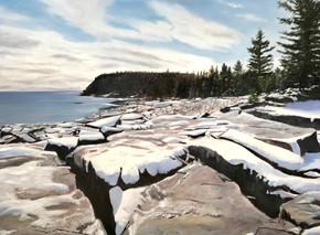 First Snow Acadia