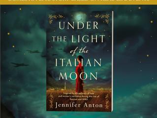 Book Spotlight,Under the Light of the Italian Moon!