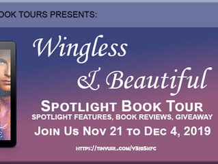 Wingless & Beautiful Book Review & Book Tour Giveaway