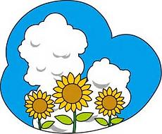 入道雲とひまわり.png