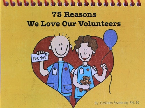 75 Reasons We Love Our Volunteers Book