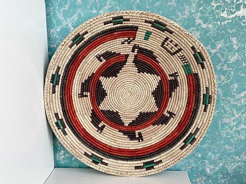"13.0"" Handmade Southwest Style Decorative Coil Basket #22"
