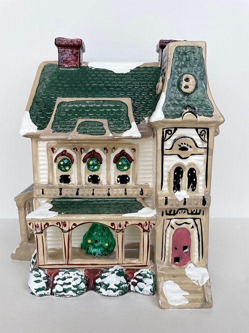 Vintage 1987 Dept 56 Snowhouse Series Lighted House