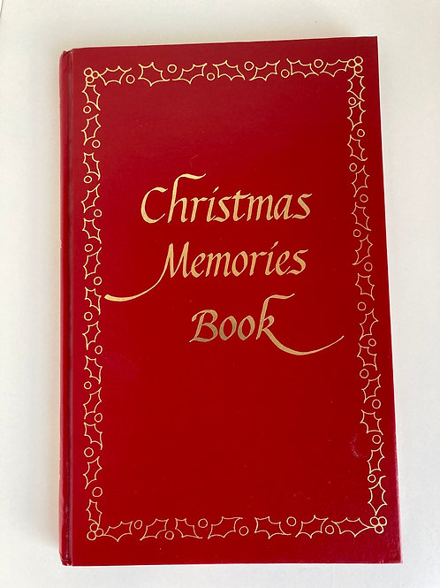 Vintage 1978 Unused Christmas Memories Book/Journal