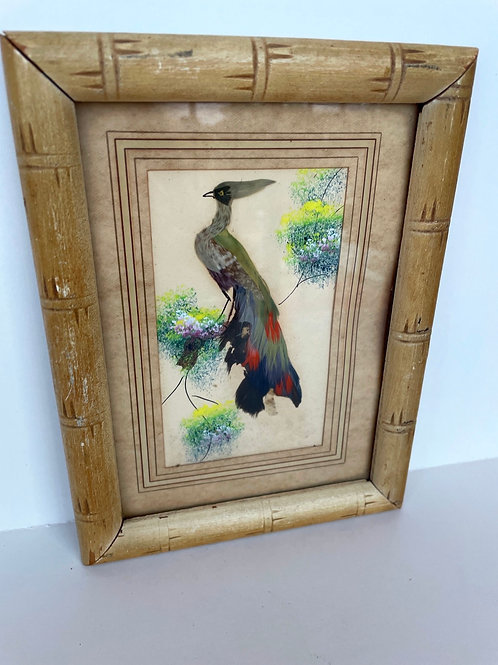 Vintage Peacock Picture