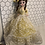 """Thumbnail: Vintage Bradley Big Eyed Doll w/ Yellow Lace Puffy Dress Made In Korea 16"""""""