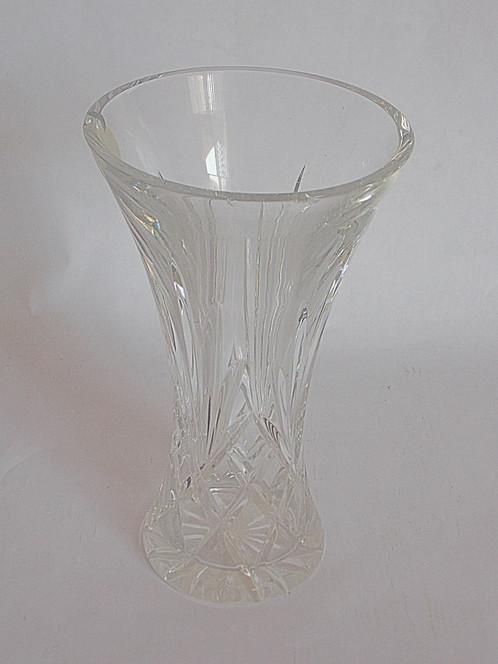 Block Crystal Vase