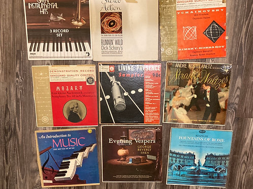 Set of 9 Instrumental/Orchestra Records