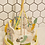 Thumbnail: Vintage Wooden Ribbon Easter Carousel Table Decoration