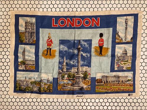 Vintage Blackstaff London Tea Towel Made in Ireland