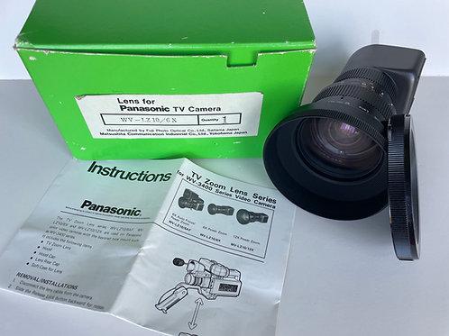 Vintage Panasonic WV-LZ10/12x Camera Lens