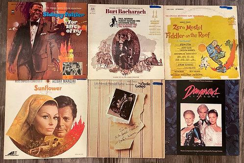 Set of 6 Vintage Records Set 1