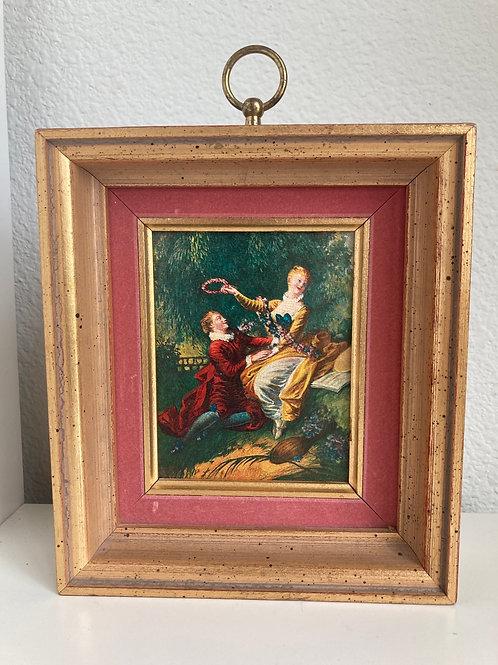 Vintage Framed Romance Setting