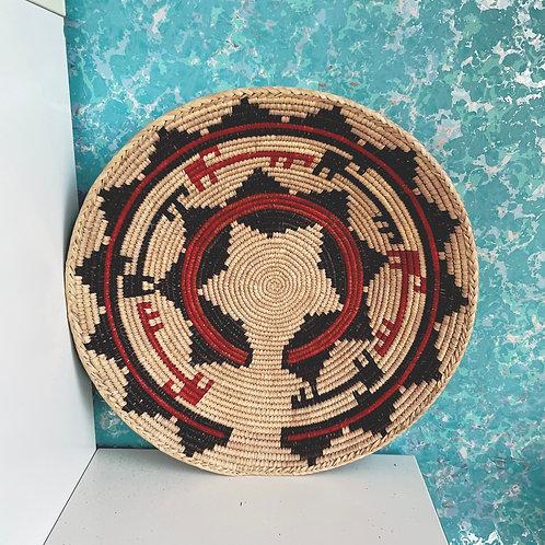 "13.0"" Handmade Southwest Style Decorative Coil Basket #05"