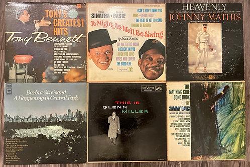 Set of 6 Vintage Records Set 2