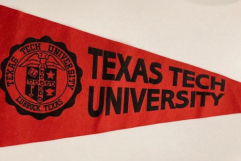 Texas Tech University Collegiate Pacific Felt Pennant