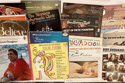 Set of 17 Vintage Records