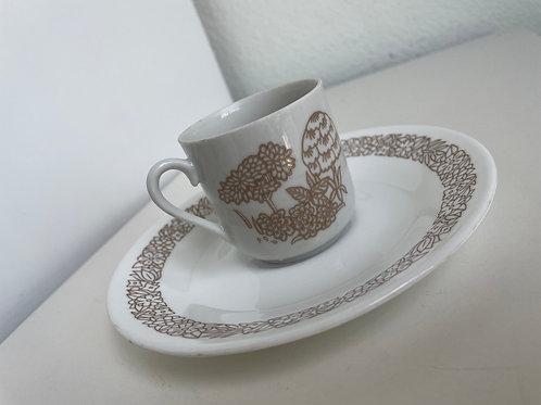 Vintage Bali Toscany Tea Cup & Saucer