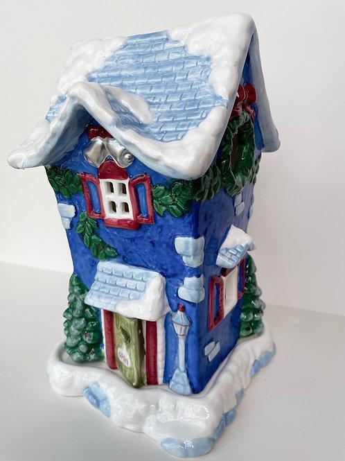 Vintage Ceramic 2pc Candle House