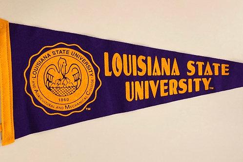 Louisiana State University Collegiate Pacific Felt Pennant