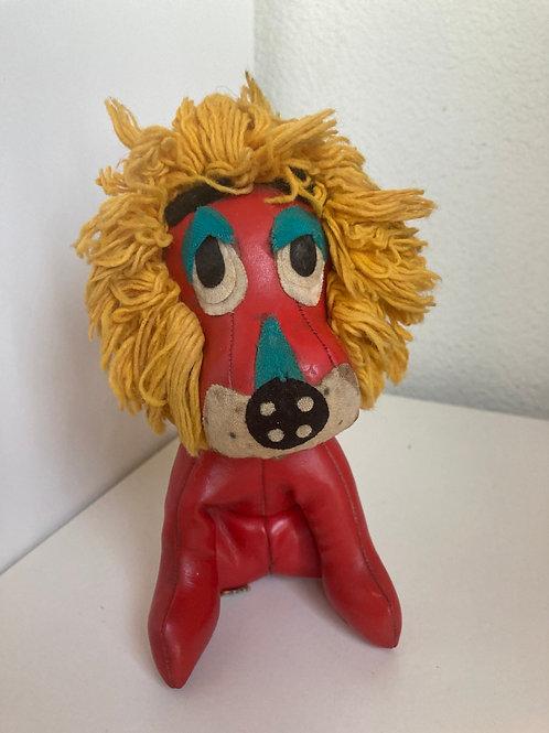 Vintage 1965 Holiday Fair Stuffed Lion Toy