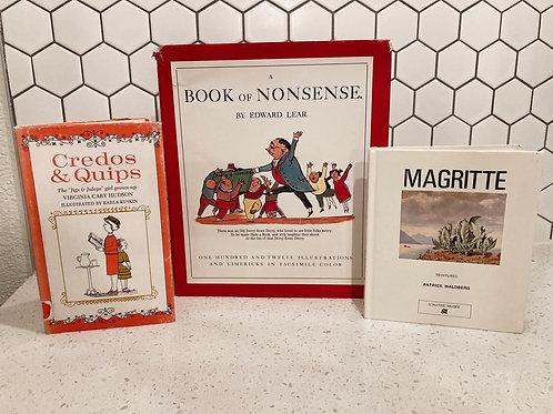 Set of 3 Vintage Books