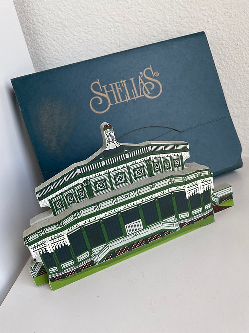 Vintage Shelia's Dancing Pavilion Collector's Hand Painted Wooden House