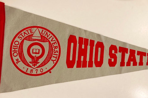 Ohio State University Collegiate Pacific Felt Pennant