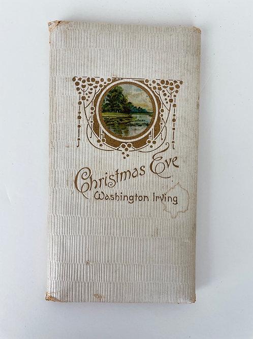 Rare Antique Book: Christmas Eve by Washington Irving