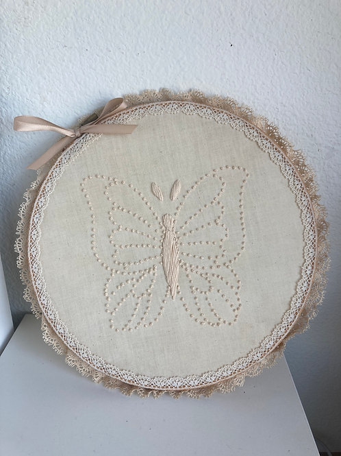 Vintage Butterfly Cross Stitch