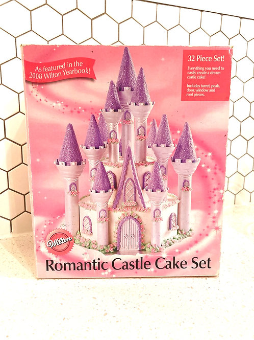 Vintage Romantic Castle Cake Set from Wilton NEW