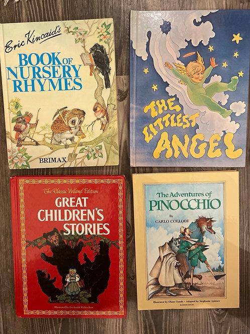 Set of 4 Vintage Children's Books