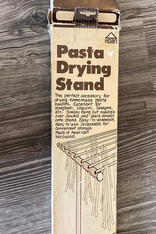 Vintage Hoan Wooden Homemade Pasta Drying Stand