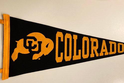 University of Colorado Collegiate Pacific Felt Pennant